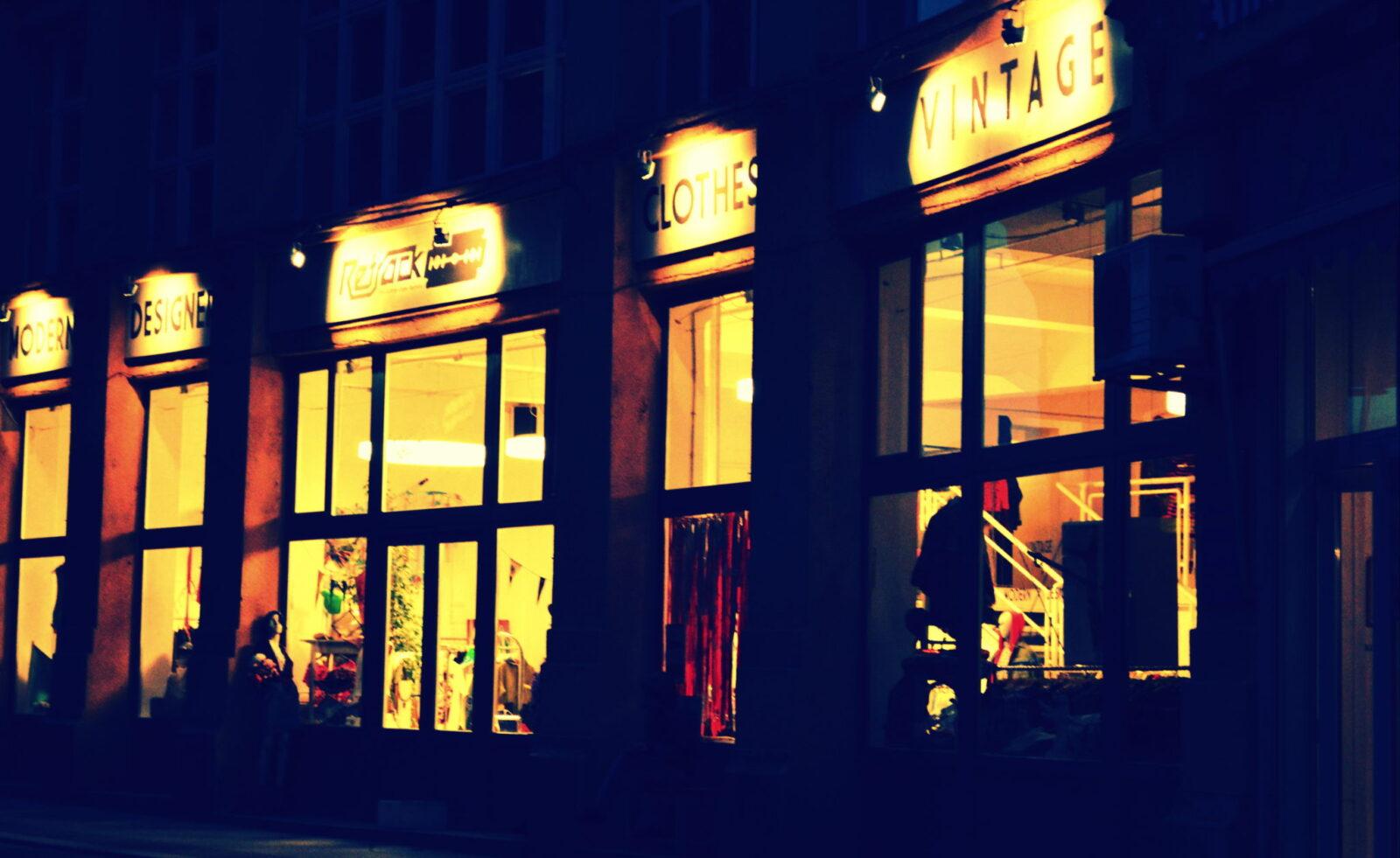 Vintage-Laden im Jüdischen Viertel
