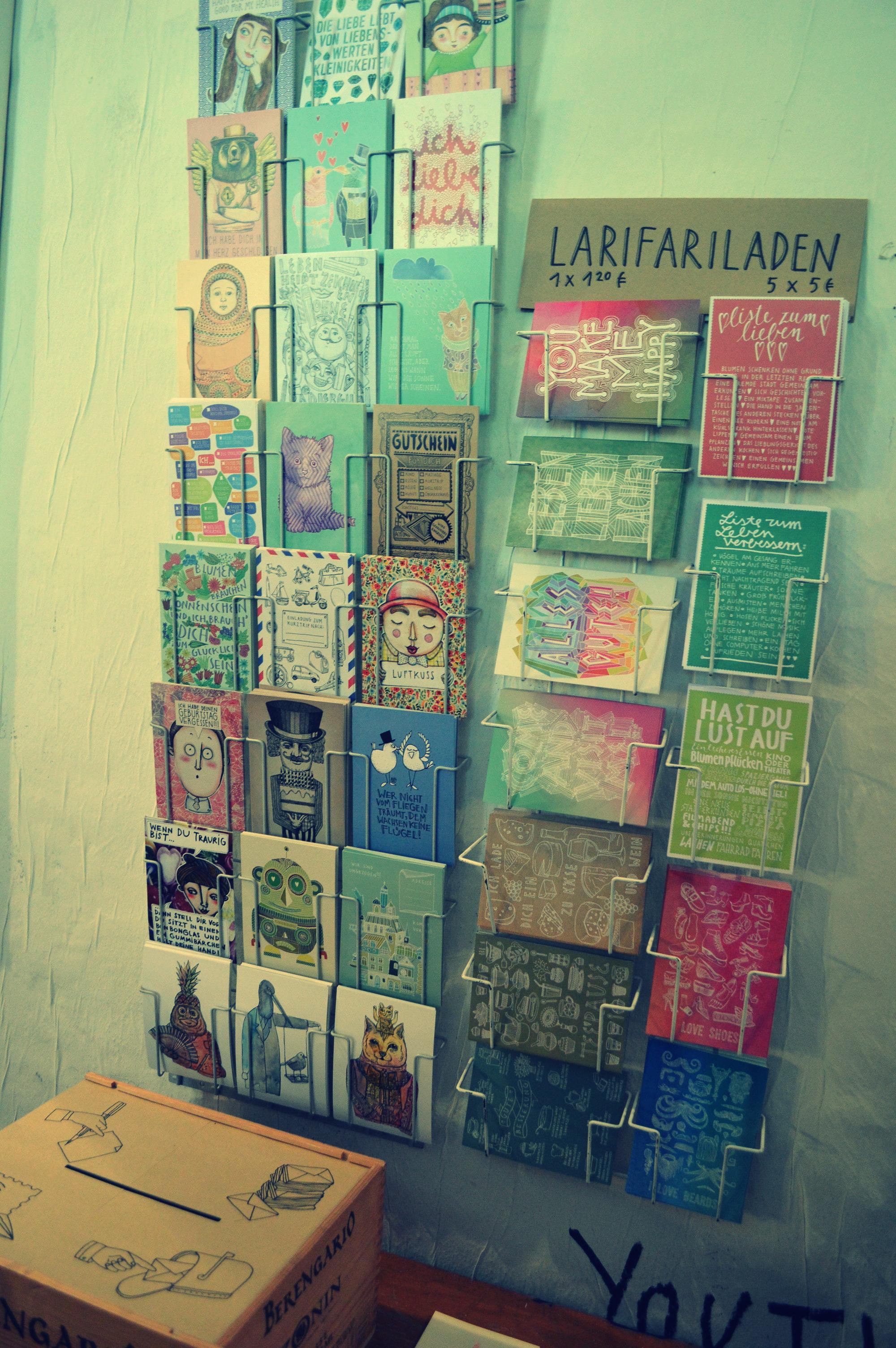 Larissas fabelhafte Postkarten
