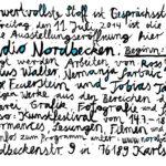 "Heimat: ""Kunstfestival im Nordbecken"""