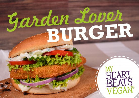 Plakat Burger Garden Lover