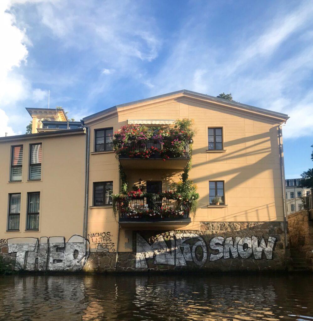 Kanaltour durch Leipzig